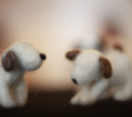 Felted Wool Dogs